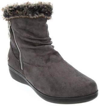 4493f5d73b8 Gloria Vanderbilt Womens Trudy Wedge Heel Zip Booties