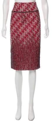 Tory Burch A-Line Knee- Length Skirt
