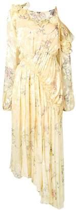 Preen by Thornton Bregazzi pleated maxi dress