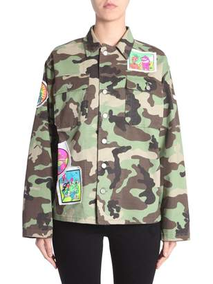 Jeremy Scott Oversize Fit Jacket