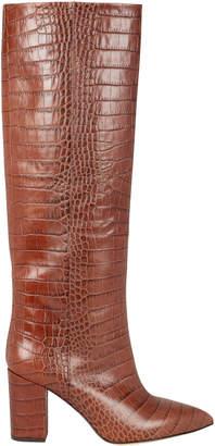 Paris Texas Croc-Embossed Calf Boots