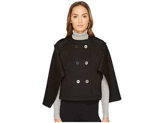 Neil Barrett Oversized Cape Sleeve Jacket Women's Coat