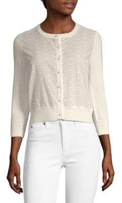 Lace Buttoned Cardigan