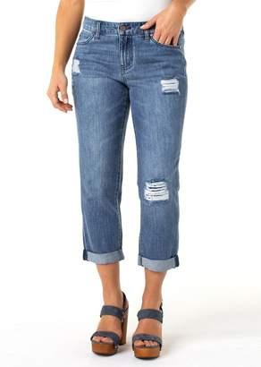 Liverpool Jeans Co Cameron Crop Boyfriend Jeans