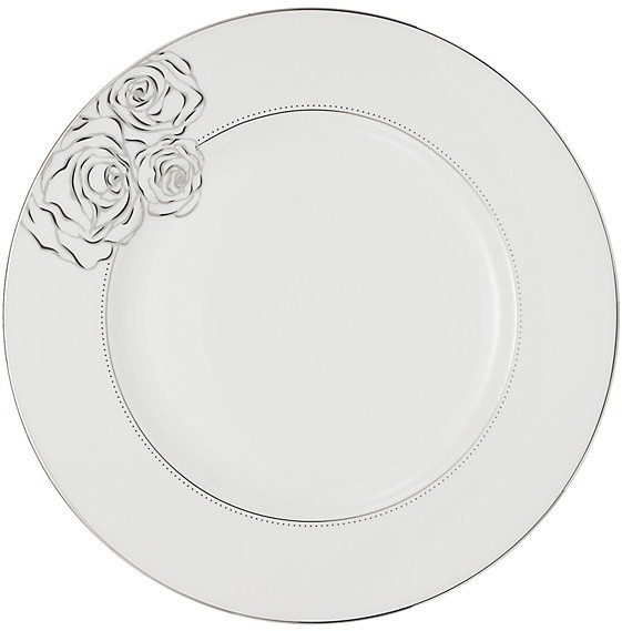 Monique Lhuillier Waterford Sunday Rose Dinner Plate