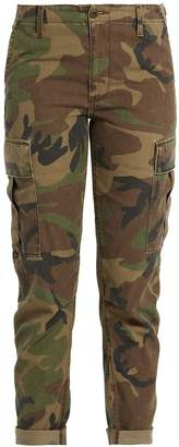 RE/DONE ORIGINALS Camouflage-print slim-leg trousers cargo trousers