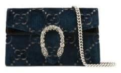 Gucci Super Mini Dionysus Velvet Chain Wallet