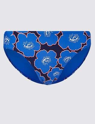 Marks and Spencer Floral Print Hipster Bikini Bottoms