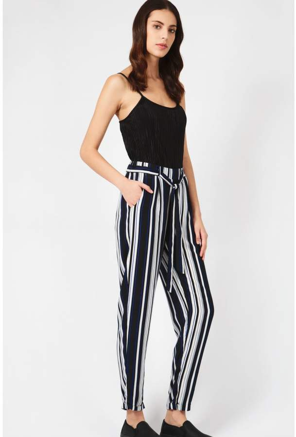 Buy Duplicated Stripe Soft Trousers!