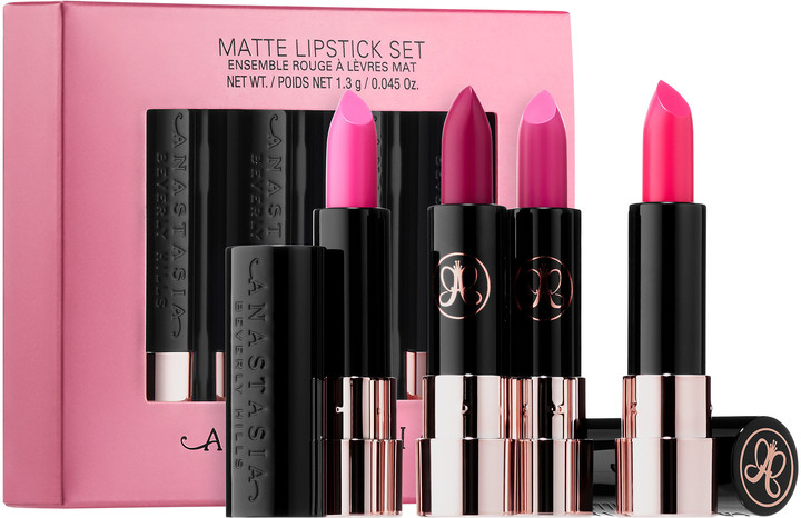 Anastasia Beverly Hills - Pink Matte Mini Lipstick Set
