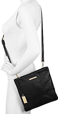 Liz Claiborne Grace Leather Crossbody Bag