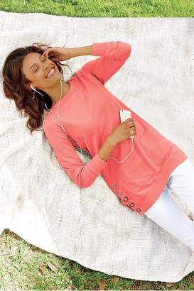 Soft Surroundings Make It Snappy Pullover