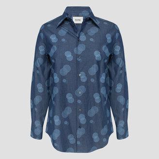 Darcy Spot Shirt $225 thestylecure.com