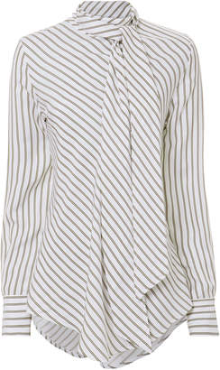 See by Chloe Ascot Tie Blouse