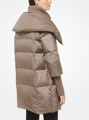 MICHAEL Michael Kors Nylon Oversized Puffer Jacket