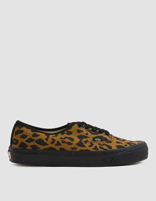 Vans Vault By Leopard-Print OG Authentic LX Sneaker