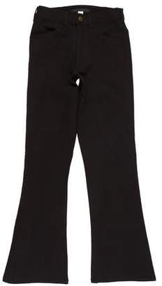 Creatures of Comfort Mid-Rise Wide-Leg Jeans