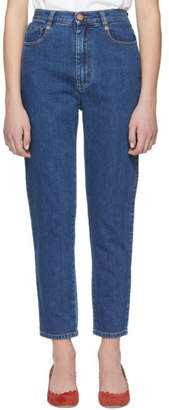 See by Chloe Blue High-Rise Jeans