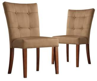 Homelegance Weston Home Tufted Parsons Dining Chair - Set of 2