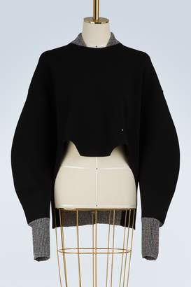 Esteban Cortazar Teddy lurex sweatshirt