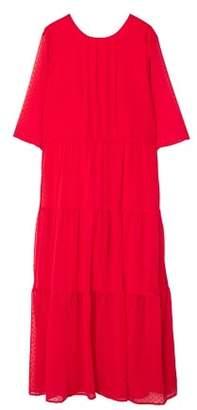 MANGO Plumeti dress