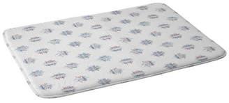 Deny Designs Holli Zollinger French Linen Ikat Dot Bath Mat Bedding
