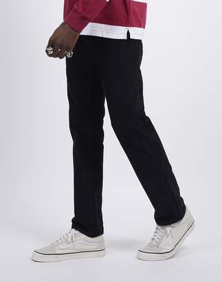 Levi's 511 Slim Fit Cord Trousers Black