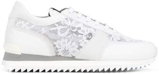 Le Silla lace panel trainers
