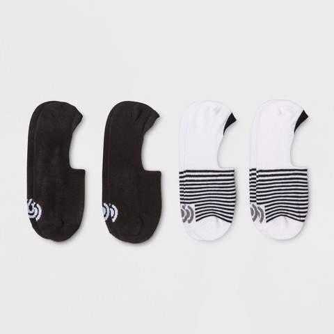 C9 Champion® Women's Liner Socks 4pk Athletic Socks - C9 Champion® White 8-12