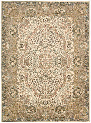 "Kathy Ireland Home Antiquities Stately Empire Ivory 3'9"" x 5'9"" Area Rug"