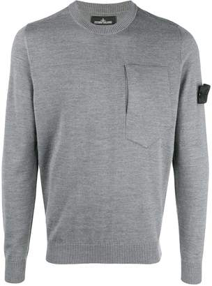 Stone Island Shadow Project chest pocket sweater