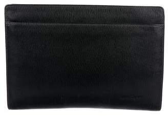 Salvatore Ferragamo Leather Document Case