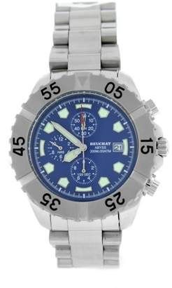 Beuchat Abyss Beu0141 Stainless Steel Chronograph 40mm Mens Watch