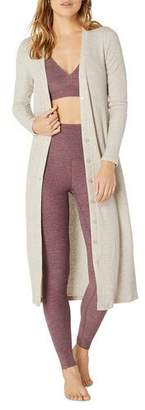 Beyond Yoga Your Line Buttoned Duster Cardigan