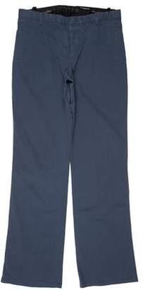 CNC Costume National Woven Flat Front Pants
