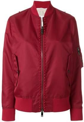 Valentino Free Rockstud bomber jacket