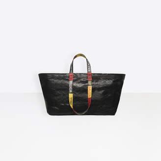Balenciaga Carry Shopper L Logo Handles