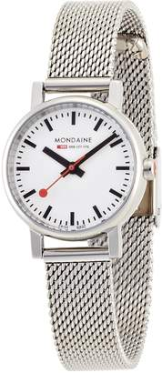 Mondaine Women's A658.30301.11SBV Quartz Evo Steel Band Watch