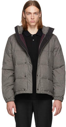 Paul Smith Black and White Down Check Jacket