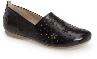 Women's Josef Seibel Fiona 31 Perforated Flat $139.95 thestylecure.com