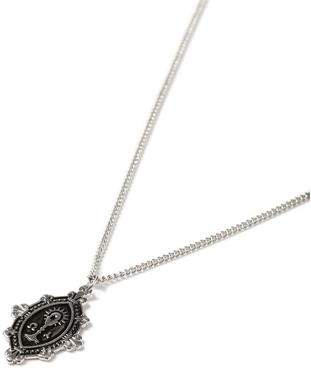 Topman Mens Silver Gothic Necklace*