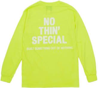Nothin'special Logo Long Sleeve Tee