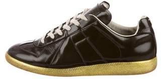 Maison Margiela Patent Leather Replica Sneakers