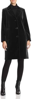 Jane Post Velvet Coat