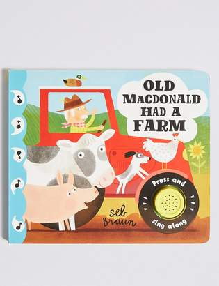 Marks and Spencer Old Macdonald Had a Farm Sound Book