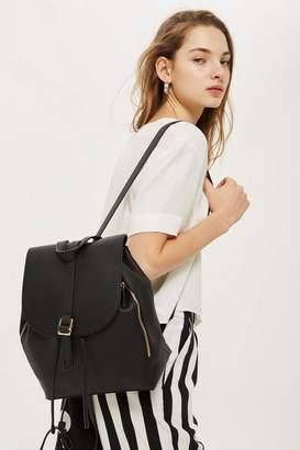 Topshop Double Zip Backpack