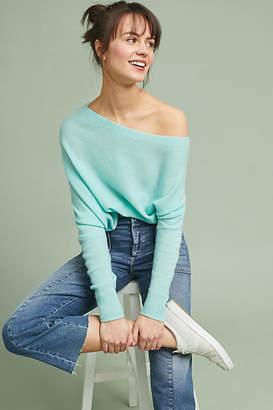 Charli Cashmere Off-The-Shoulder Pullover