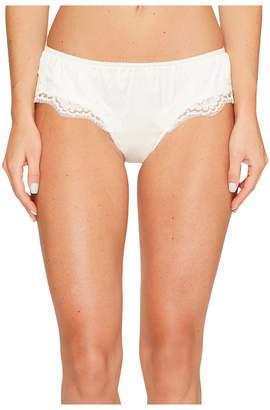 Dolce & Gabbana Stretch Satin Lace Lace Panty