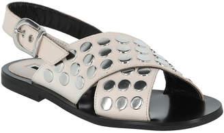 McQ Leather Sundance Studded Sandal