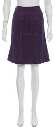 Rebecca Taylor Wool Knee-Length Skirt